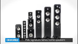 polk home theater speakers polk signature series home speakers crutchfield video youtube