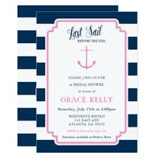 Nautical Bridal Shower Invitations Bridal Veil Invitations U0026 Announcements Zazzle
