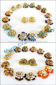 jhumka earring online buy wholesale meenakari jhumka earring traditional jhumka