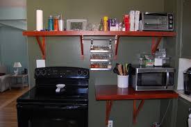 kitchen superb diy kitchen wall shelves ideas regarding size