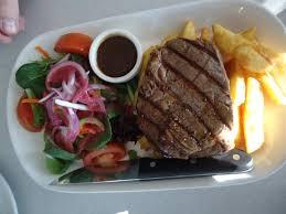 equinox cuisine equinox lunch scotch fillet steak picture of equinox