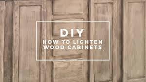 how to lighten wood kitchen cabinets diy bathroom cabinets how to lighten wood cabinets the