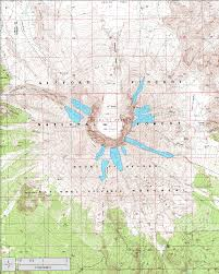 Portland State University Map by Glaciers Of Washington Glaciers Of The American West