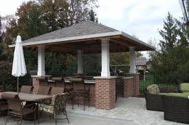 Outdoor Kitchen Pavilion Designs by Outdoor Kitchens Fishers Indiana Outdoor Kitchen Design