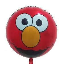 elmo party supplies 18inch mylar balloons toys balon children party