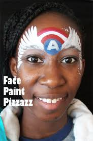 best 25 captain america face paint ideas on pinterest superhero
