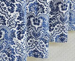 Blue Damask Shower Curtain Navy Blue Damask Shower Curtain Linen 72 X 72 By Pondlilly