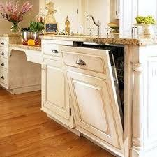 Elevated Dishwasher Cabinet Dishwasher End Panel Dishwasher Cabinet Panel Kit Kitchen Cabinet