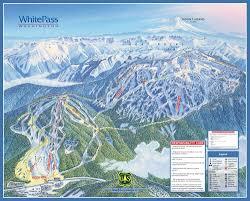 Mt Hood Trail Map White Pass Wa Last Time I Was There Only The Mountain On The