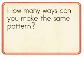 kindergarten kindergarten patterns