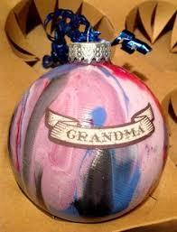 american boxer decoupaged christmas glitter ornament great funny