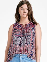 peasant blouse plus size plus size peasant tops lucky brand