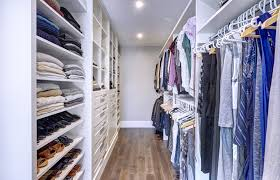 Space Solutions The Custom Master Bedroom Walk In Closet Space - Custom cabinets bedroom