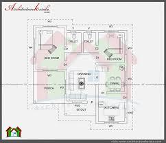 House Plans Under 2000 Sq Feet 2 Bedroom House Plans Kerala Style 1000 Sq Feet House Plan Ideas