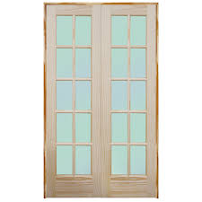 French Double Doors Interior Popular Of Prehung Interior Double Doors And Mastercraft Oak Bevel
