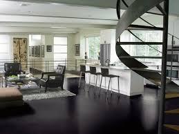 Open Plan Kitchen Flooring Ideas Black Flooring Ideas Home Design Ideas