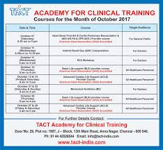 tact india the academy for clinical training