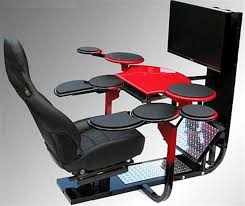 chair ergonomic gaming computer workstation design with all those