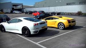 f430 vs lamborghini gallardo f430 vs lamborghini gallardo revs and drive