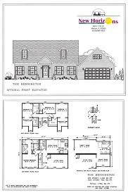 cape cod home floor plans model homes floor plans marion il horizons homes inc