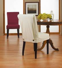 interior white dining room chair covers with regard to good