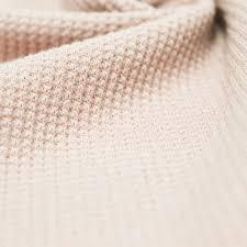 blush solid thermal knit fabric 629 blush stylishfabric
