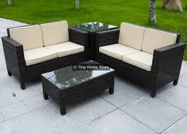 comfortable madison rattan garden furniture corner sofa stool