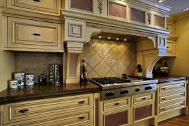 Kitchen Off White Cabinets Kitchen Backsplash Cream Cabinets Home Designs Kaajmaaja