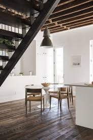 Oversized Pendant Light Houses Oversized Pendant Light Above The Small Dining Space