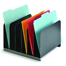Fun Desk Organizers by Amazon Com Mmf Industries Steel 6 Compartment Vertical