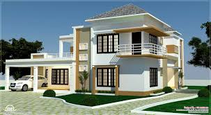 Floor Plan Front View by Floor Plan 3d Views And Interiors Of 4 Bedroom Villa Kerala
