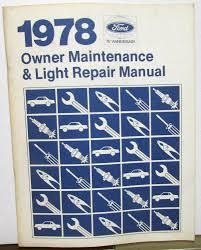 mustang maintenance repairs ltd ford passenger car owner maintenance light repair manual mustang