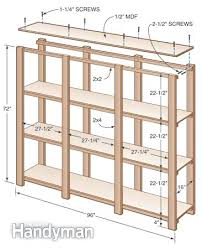 Building Wood Shelves Garage by Cheap Garage Shelving Ideas And Plansdiy Wood Build With 2 4