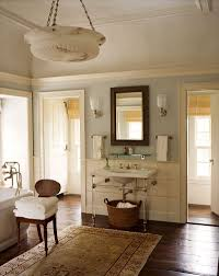 Hardwood In Powder Room From Gil Schafer U0027s New Book Great American Home Via Gianetti Home