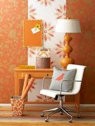 what colors go with orange decorating color schemes in color