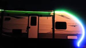 travel trailer led lights rv led light strips youtube