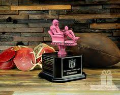 Fantasy Football Armchair Quarterback Trophy Armchair Quarterback And Armchair Quarterback Mini