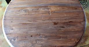 wood table top home depot round wood table top home depot round designs