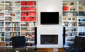 White Bookcase With Glass Doors by 15 Best Ideas Of Tv Bookcase Combination