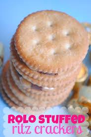 rolo stuffed ritz crackers something swanky