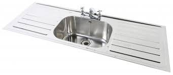 Inset Single Bowl Double Drainer  TAP HOLES Northern Sink Supplies - Double drainer kitchen sink