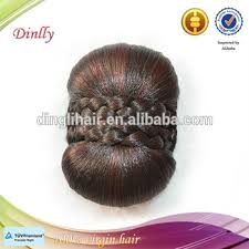 black hair buns for sale fashion style top sale hair bun hairpiece fake chignon mixed color