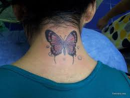 area gets butterfly on back of neck of lancaster