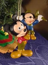 disney mickey mouse as bob cratchit a christmas carol ornament