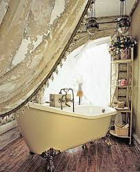 tende vasca bagno 7 idee per un bagno romantico in stile shabby chic provenzale o