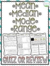 166 best mean median mode range images on pinterest teaching