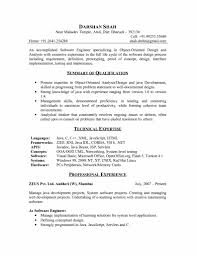Sample Resume For Experienced Testing Professional by Sample Resume Software Engineer Free Resume Example And Writing