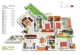 apartment 3 bedroom 2000 sq ft contemporary house plans best of 3 bedroom apartment