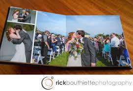 wedding albums our wedding albums rick bouthiette photography