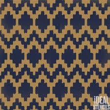 moroccan geometric ikat pattern stencil ideal stencils